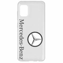 Чехол для Samsung A31 Mercedes-Benz Logo