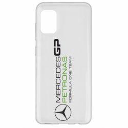 Чехол для Samsung A31 Mercedes GP Vert