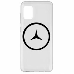 Чехол для Samsung A31 Mercedes new logo