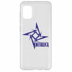 Чохол для Samsung A31 Логотип Metallica