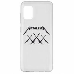 Чохол для Samsung A31 Metallica XXX