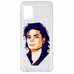 Чохол для Samsung A31 Michael Jackson Graphics Cubism