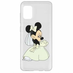 Чехол для Samsung A31 Minnie Mouse Bride