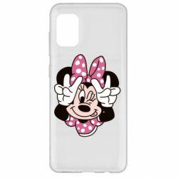 Чохол для Samsung A31 Minnie Mouse