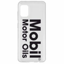 Чехол для Samsung A31 Mobil Motor Oils