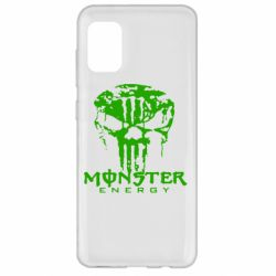 Чохол для Samsung A31 Monster Energy Череп