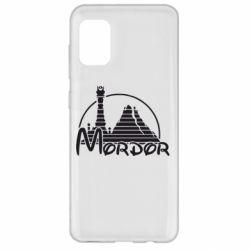 Чехол для Samsung A31 Mordor (Властелин Колец)