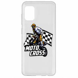 Чехол для Samsung A31 Motocross