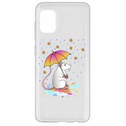 Чохол для Samsung A31 Mouse and rain