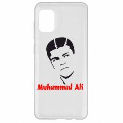 Чехол для Samsung A31 Muhammad Ali
