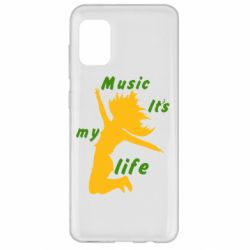 Чохол для Samsung A31 Music it's my life
