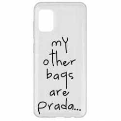 Чохол для Samsung A31 My other bags are prada