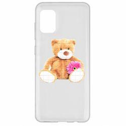 Чохол для Samsung A31 М'який ведмедик