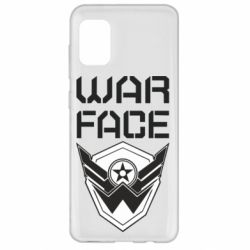 Чохол для Samsung A31 Напис Warface