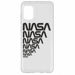 Чехол для Samsung A31 NASA