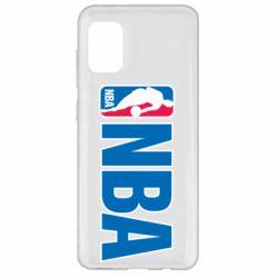 Чехол для Samsung A31 NBA Logo