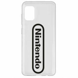 Чохол для Samsung A31 Nintendo logo
