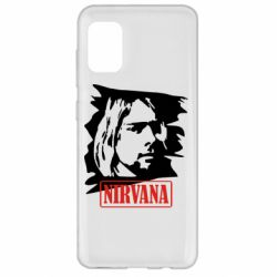 Чехол для Samsung A31 Nirvana Kurt Cobian
