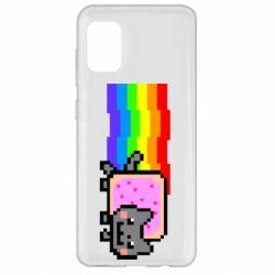 Чохол для Samsung A31 Nyan cat
