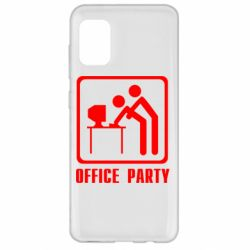 Чехол для Samsung A31 Office Party