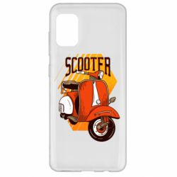 Чохол для Samsung A31 Orange scooter
