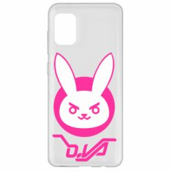 Чехол для Samsung A31 Overwatch dva rabbit