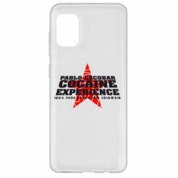 Чехол для Samsung A31 Pablo Escobar