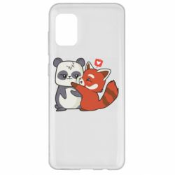 Чохол для Samsung A31 Panda and fire panda