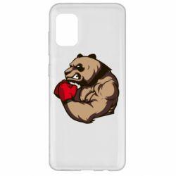 Чехол для Samsung A31 Panda Boxing