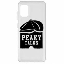 Чехол для Samsung A31 Peaky talks