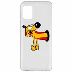 Чехол для Samsung A31 Пес