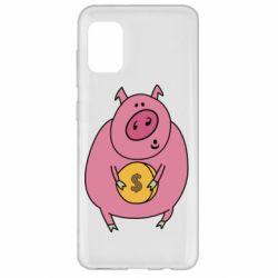 Чохол для Samsung A31 Pig and $