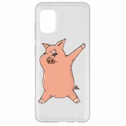 Чохол для Samsung A31 Pig dab