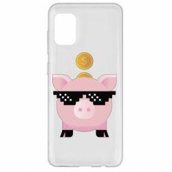 Чохол для Samsung A31 Piggy bank