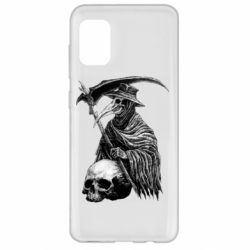 Чехол для Samsung A31 Plague Doctor graphic arts