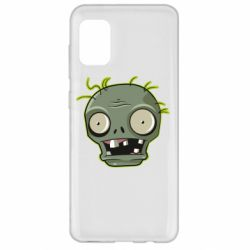 Чохол для Samsung A31 Plants vs zombie head
