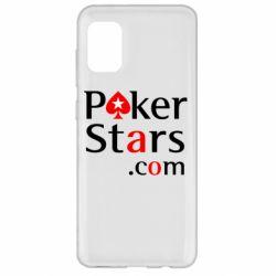 Чехол для Samsung A31 Poker Stars