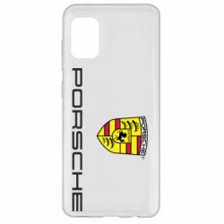 Чехол для Samsung A31 Porsche