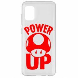 Чохол для Samsung A31 Power Up Маріо гриб