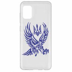 Чохол для Samsung A31 Птах та герб