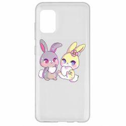 Чохол для Samsung A31 Rabbits In Love