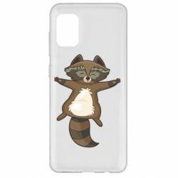 Чохол для Samsung A31 Raccoon