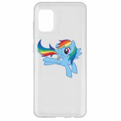 Чохол для Samsung A31 Rainbow Dash run