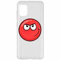 Чехол для Samsung A31 Red Ball game
