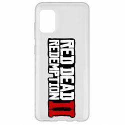 Чохол для Samsung A31 Red Dead Redemption logo