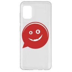 Чехол для Samsung A31 Red smile