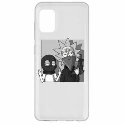 Чехол для Samsung A31 Rick and Morty Bandits