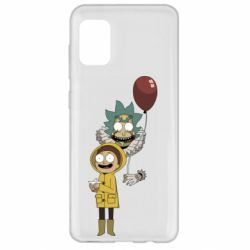 Чехол для Samsung A31 Rick and Morty: It 2