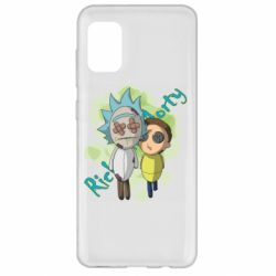 Чохол для Samsung A31 Rick and Morty voodoo doll