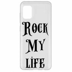 Чехол для Samsung A31 Rock my life
